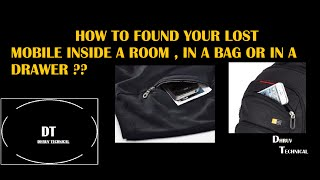 HOW TO FIND YOUR PHONE WHICH IS LOSTED IN YOUR HOME ?? IF IT ALSO ON SILENT MODE!!
