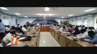 Deputy CM KE Krishna Murthy Review Meet With Collectors Over Water Problems   iNews