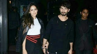 Shahid Kapoor And Mira Rajput's LATE NIGHT Dinner Date