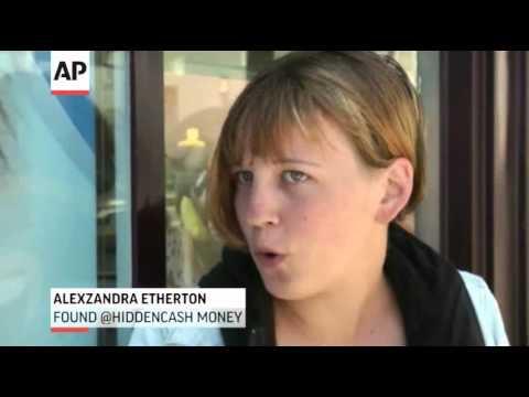 @HiddenCash Leaving Money Around San Francisco News Video