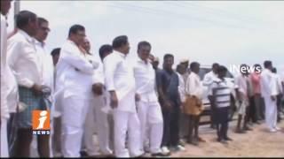 Congress MLA Jana Reddy Visits Fish Ponds Farming In Yadadri Bhuvanagiri | iNews