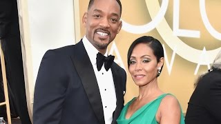 WILL and JADA SMITH Own Golden Globes Red Carpet