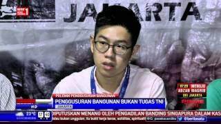 LBH Jakarta Somasi Keterlibatan TNI dalam Penggusuran Bangunan di Jakarta