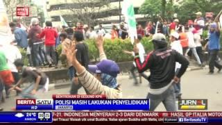 Publik Kecam Demo Rusuh di Gedung KPK