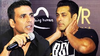 Salman Khan LEAVES Akshay Kumar's Film - Watch Out Akki's Reaction