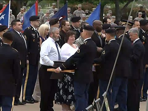 Fort Hood Attack Survivors Receive Purple Hearts News Video