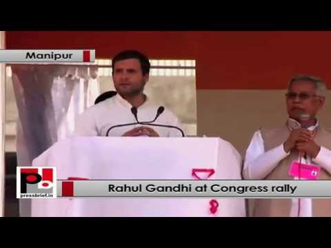 Rahul Gandhi- North-eastern states will become fastest growing states in the country