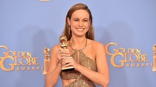EXCLUSIVE: Brie Larson Almost Missed Her Golden Globe Win