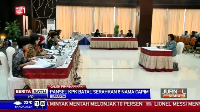 Agenda Presiden Padat, Pansel Tunda Serahkan Nama Capim KPK