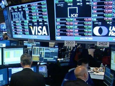 Market Volatility Returns; Dow Drops Sharply News Video