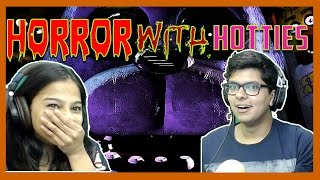 Girl Plays Horror Game For The First Time - Horror With Hotties - Five Night At Freddy's - 2 #HWH