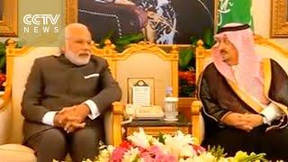 Indian PM Narendra Modi v`isit to Saudi Arabia
