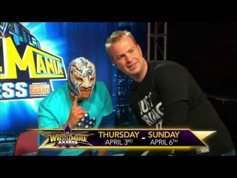 WrestleMania Axxess -- Tickets available Saturday, February 1 - WWE Wrestling Video