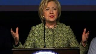 Clinton Questions Sanders' Effectiveness - News Video