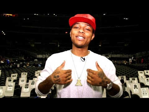 Backstage at The GRAMMYs with Shad Moss