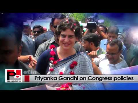 Genuine mass leader - Priyanka Gandhi Vadra