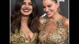 Priyanka Chopra got pinched at Golden Globe Award 2017