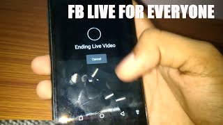 How To Go Live On Facebook For Every Individual