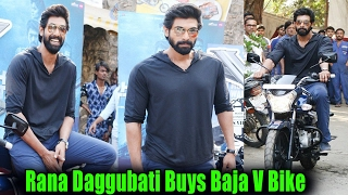 Rana Daggubati Buys Baja V Bike | The Ghazi Attack