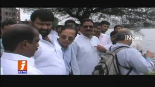 Marri Sasidhar Reddy Inspects Flood Affected Area Bandari Layout | Hyderabad | iNews