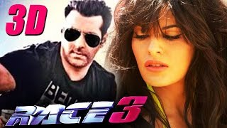 Salman Khan's RACE 3 To Be Made In 3D, Salman Khan To Romance Jacqueline In Race 3