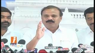 TRS MLC Karne Prabhakar Slams Uttam Kumar Reddy Over Comments On KTR | iNews