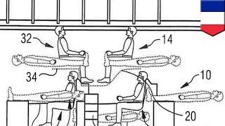 Stacked airplane seating? Airbus files patent for split-level passenger cabin seating