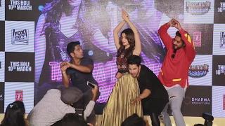 Alia Bhatt & Varun Dhawan's LIVE Mannequin Challenge At Tamma Tamma Again Song Launch