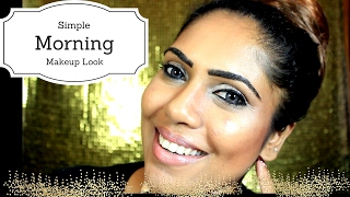 Morning Time Makeup (Sri lankan)My Routine Look