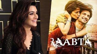 Kriti Sanon OPENS On RAABTA TRAILER | Sushant Singh Rajput