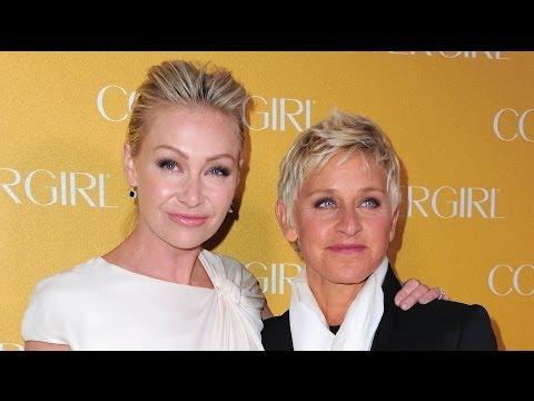 Ellen DeGeneres and Portia de Rossi Renewing Wedding Vows