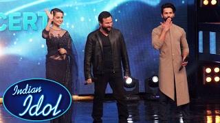 Rangoon Team On Indian Idol Shahid Kapoor, Kangana Ranaut, Saif Ali Khan