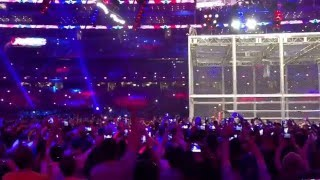 Shane McMahon jumps off Hell in a Cell - WrestleMania 32