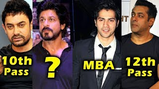 TOP 10 Bollywood Stars And Their Educational Qualification