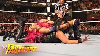Becky Lynch & Sasha Banks vs. Naomi & Tamina: WWE Fastlane 2016