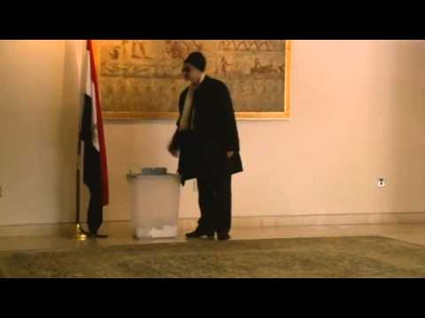 Egyptians overseas vote on constitution News Video