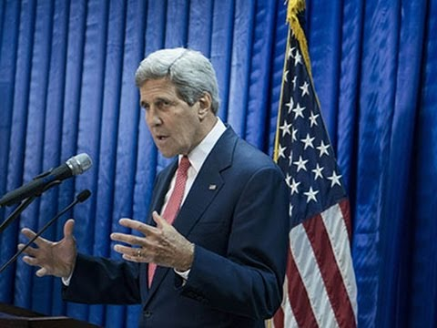 Kerry- World Won't Permit IS to Spread Evil News Video