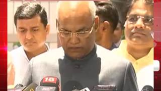 राष्ट्रपति चुनाव- मोदी-शाह की मौजूदगी में रामनाथ कोविंद ने भरा नामांकन