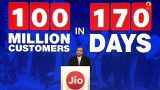 Reliance Jio grew faster than Whatsapp, Facebook and Skype- Mukesh Ambani