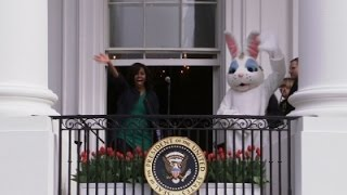 First Lady- Last Easter Egg Roll 'Bittersweet' News Video