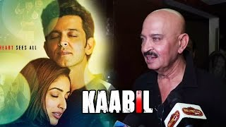 Rakesh Roshan At Hrithik Roshan's KAABIL Movie Screening