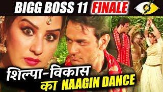 Shilpa Shinde And Vikas Gupta Bigg Boss 11 Finale Performance - Naagin Dance