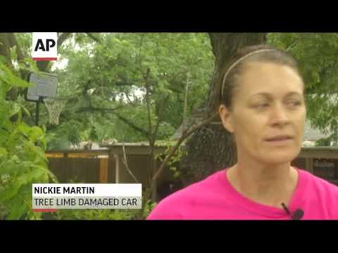 Second Day of Storms Aims for Texas News Video