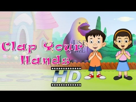 Clap Your Hands - Nursery Rhyme - For Kids