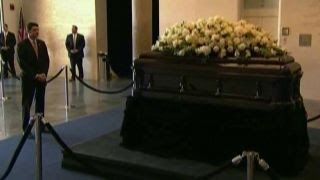 Family and friends prepare to say goodbye to Nancy Reagan