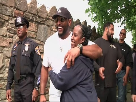 Ray Lewis- 'Stop Talking About Old Baltimore' News Video