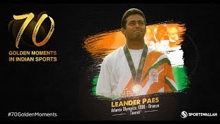 Leander Paes - Atlanta Olympics, 1996 - Bronze | 70 Golden Moments In Indian Sports