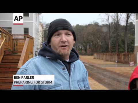 South Warned of 'catastrophic' Storm Potential News Video