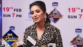 Asha Negi At ZEE Rishtey Awards 2017