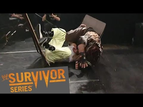 FULL-LENGTH PPV MATCH - Elimination Tables Match: Survivor Series 2002 - WWE Wrestling Video